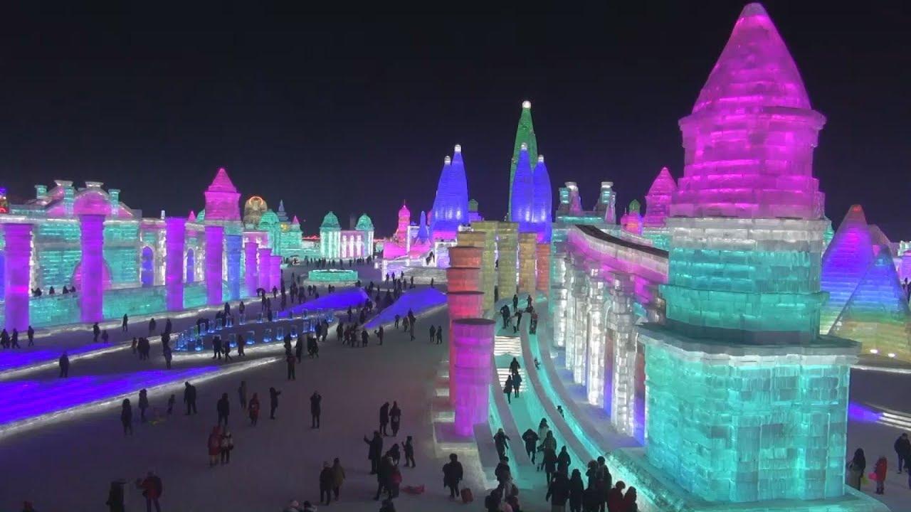 ハルビン氷祭り 2019 12.24~2.28